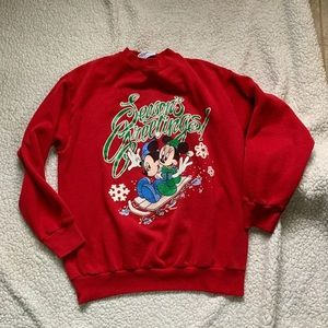 Vintage Disney Christmas sweater